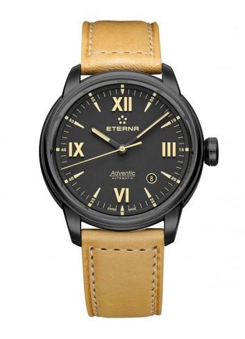 reloj eterna adventic negro pvd automatico