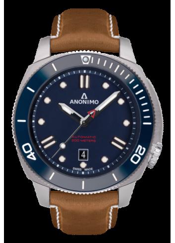 reloj anónimo nautilo azul automatico