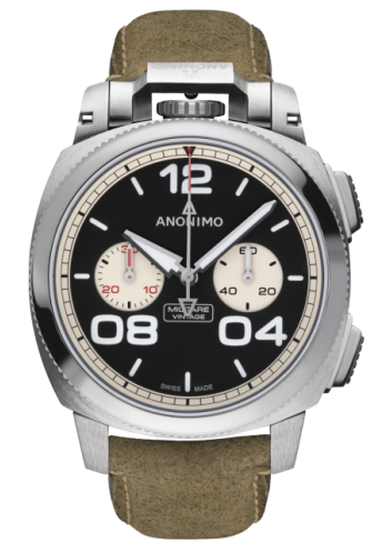 reloj anónimo militare crono automático